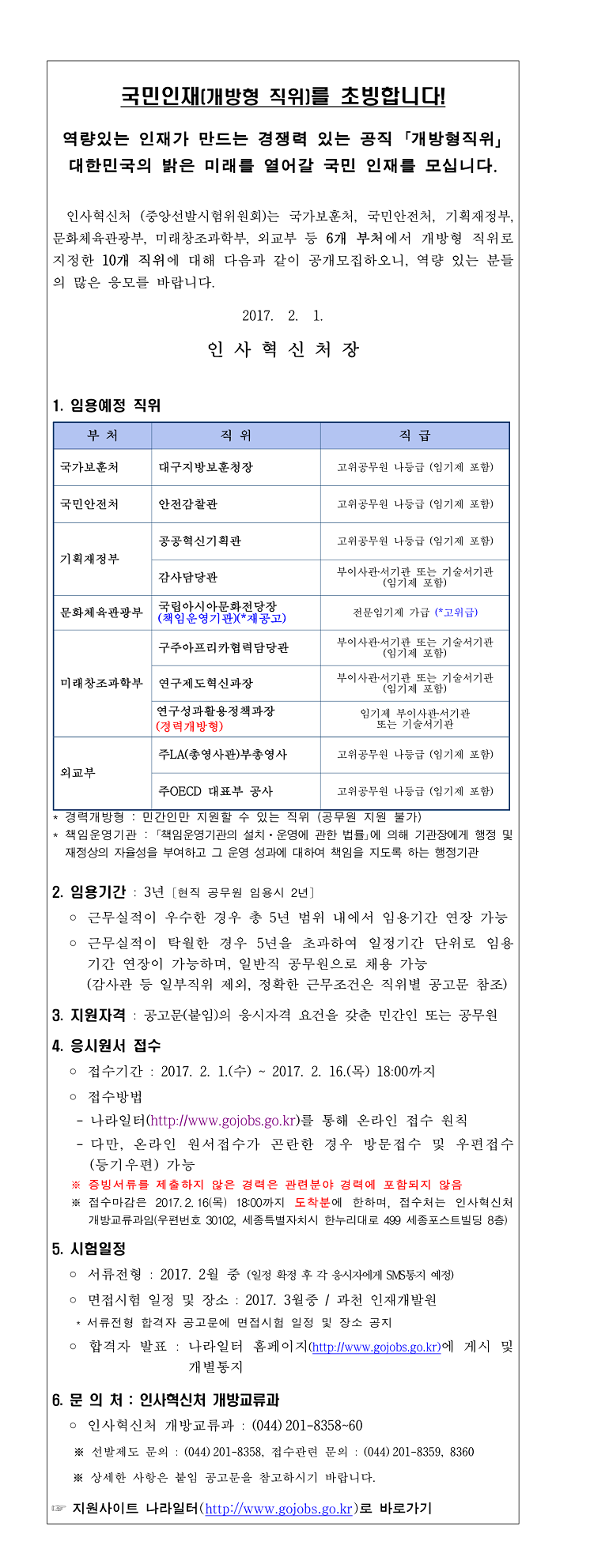 1. 개방형 직위 공개모집 안내(2017년 2월 공고)-1.jpg