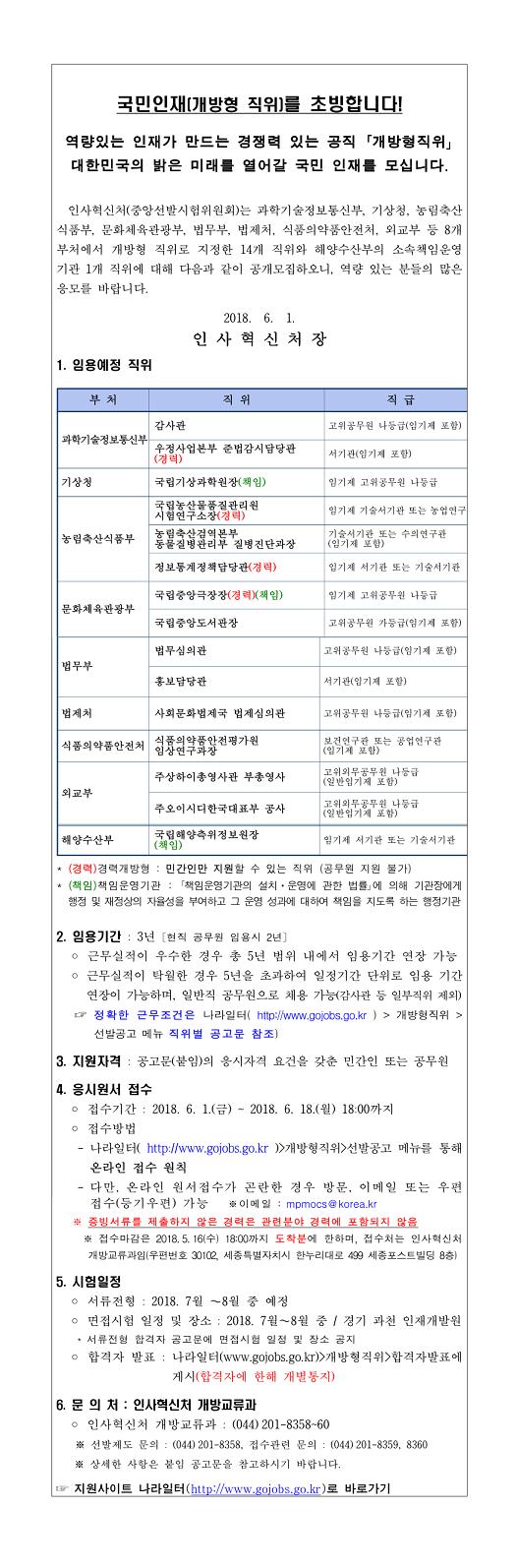 1. 개방형 직위 공개모집 안내(2018년 6월 공고)-1.jpg